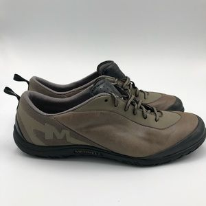 Merrell Women 9.5 Silver Black Select Grip Shoes